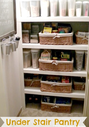 Welcome To Our New Pantry Space