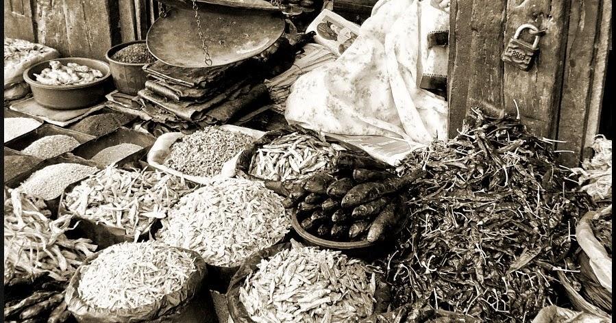 Carved wooden vintage grocery shop in kathmandu clicking