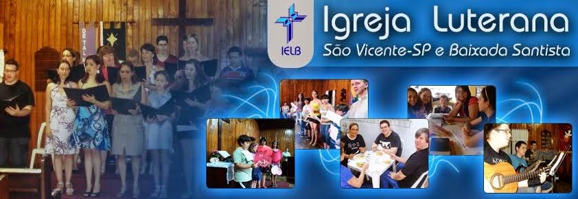 Igreja Luterana de São Vicente-SP e Baixada Santista