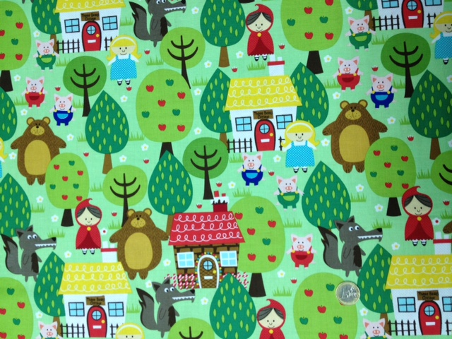 La tienda de ninart tela cuentos infantiles - Telas infantiles online ...
