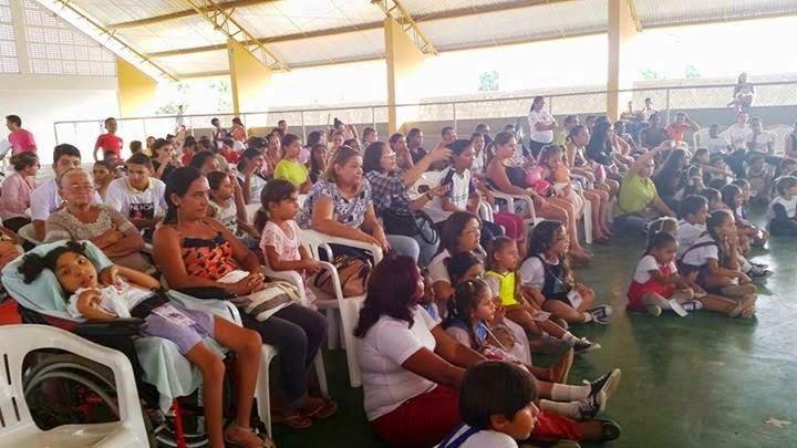 1º DIA DA CONFERÊNCIA LIVRE DOS DIREITOS DA CRIANÇA E DO ADOLESCENTE DE GUAMARÉ.