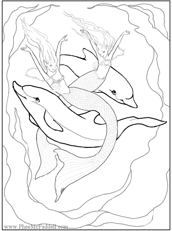 Free Fantasy Coloring Pages! She has the largest amount of coloring title=