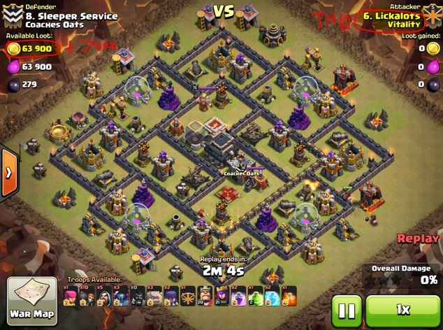 how does clash of clans war matchmaking work