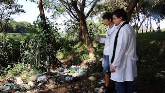 O impacto dos resíduos na água