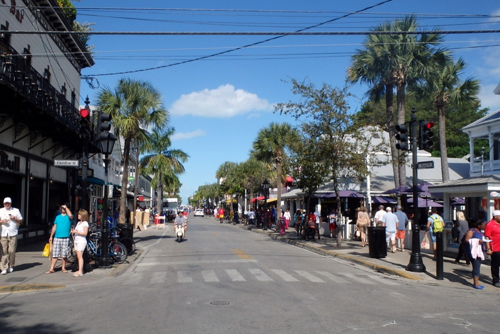 Tourist fun in Key West