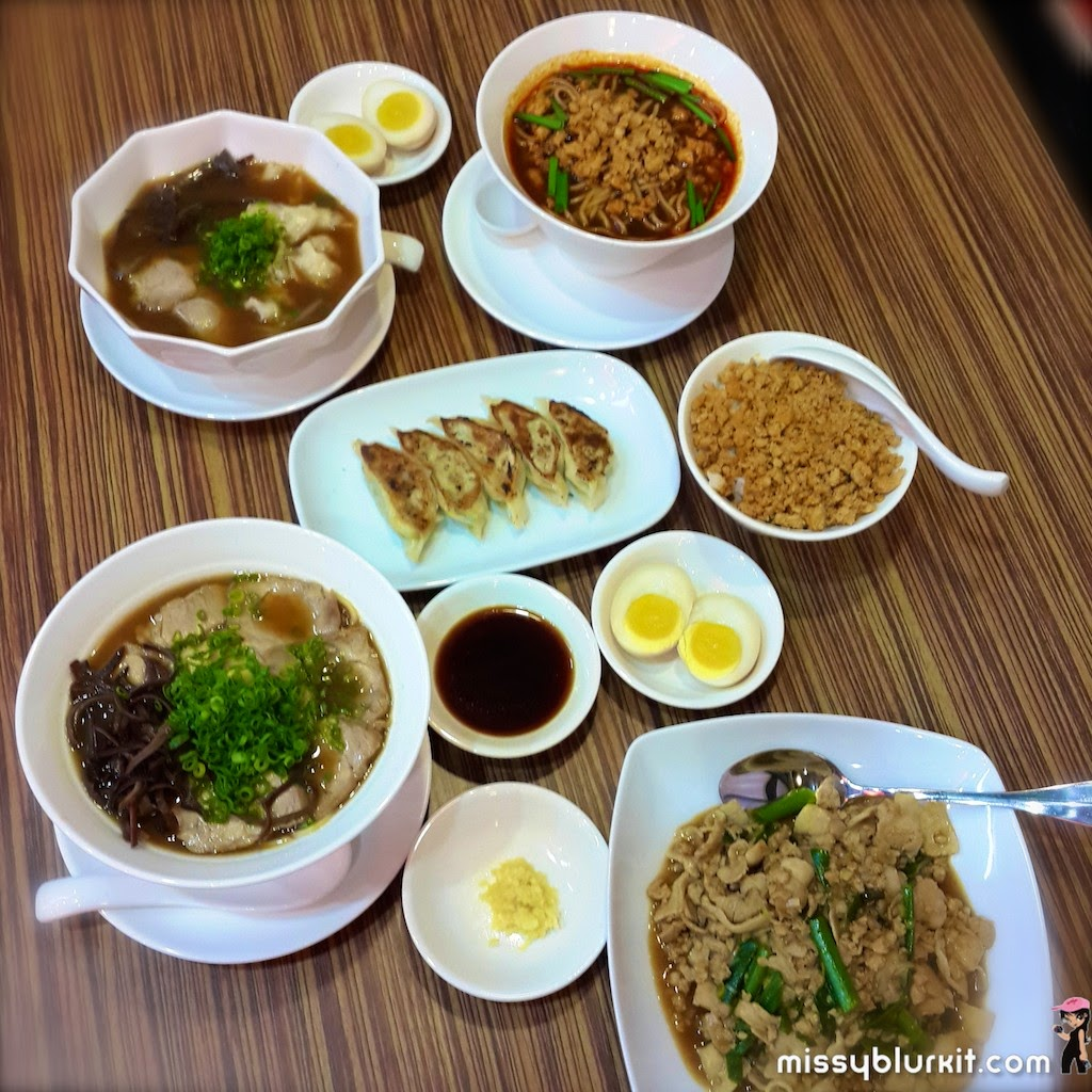 Ramen Kanbe, Empire Damansara, ramen, Kobe, japanese, foodie trail,