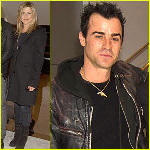 Justin Theroux With Jennifer Aniston