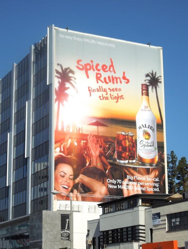 Giant Malibu Island Spiced billboard
