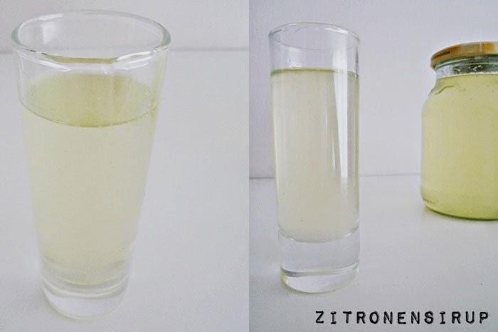 Zitronensirup