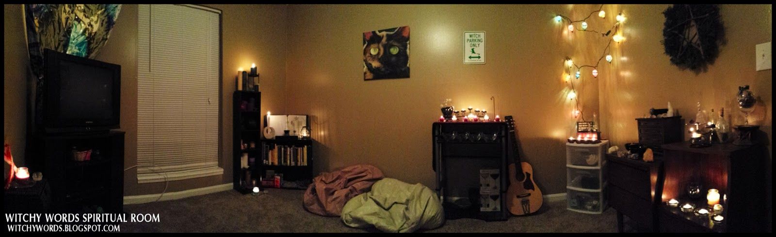 Witchy words my new spiritual room for Spiritual bedroom designs