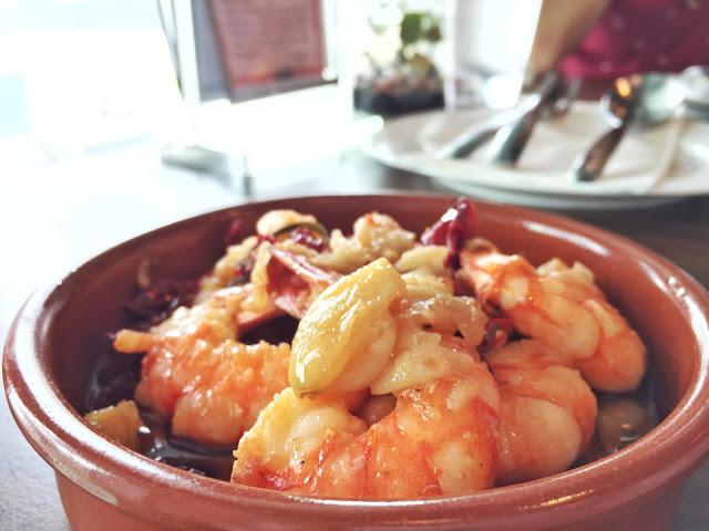 Milagro Spanish Restaurant - Prawns al Ajillo