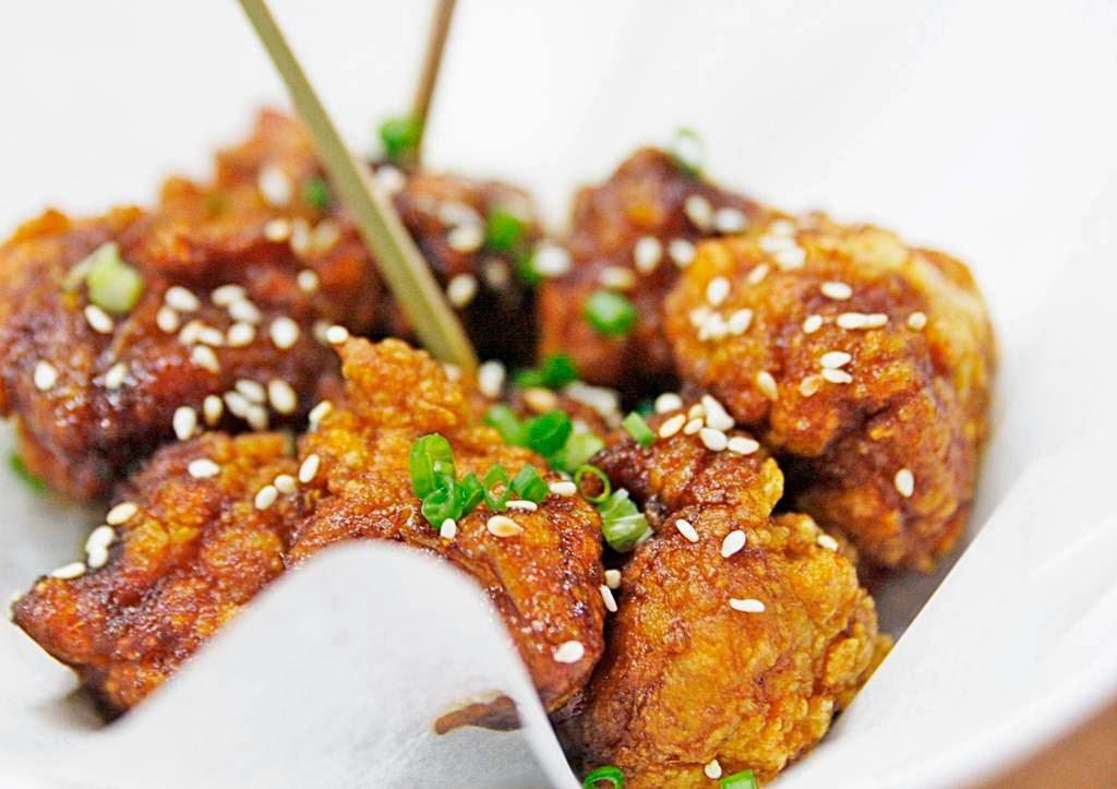 Isol Popcorn Chicken Butt Pino Resto Bar Jupiter Street Makati