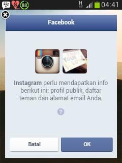 akun di instagram