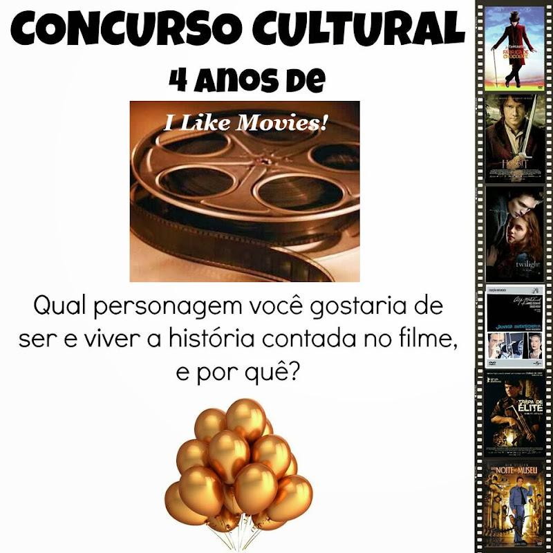 Resultado do Concurso Cultural 4 anos de I Like Movies!