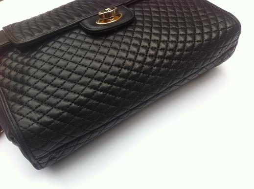 Truly Vintage Authentic Bally Quilted Lambskin Leather