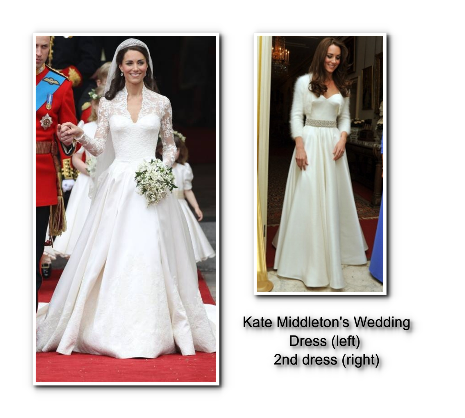 classic wedding dresses from the lbe bride to kate middleton and reese witherspoon