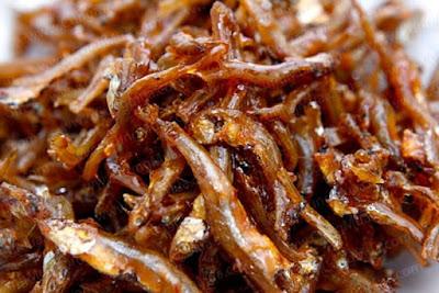 Cá cơm rán giòn tẩm nước mắm, mật ong - Mật ong Highland Bee