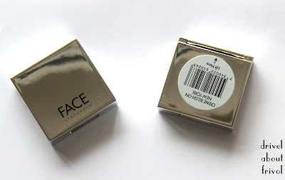 Face Stockholm Creme Blush packaging