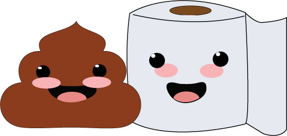 Poop In Toilet With Paper Images & Pictures - Becuo