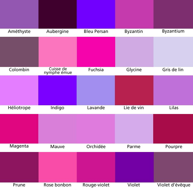 D 39 ouest en est vers le sud pour ne pas perdre le nord - Les nuances de violet ...