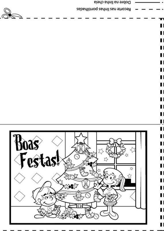 artes da livia cartÕes de natal l para imprimir e colorir