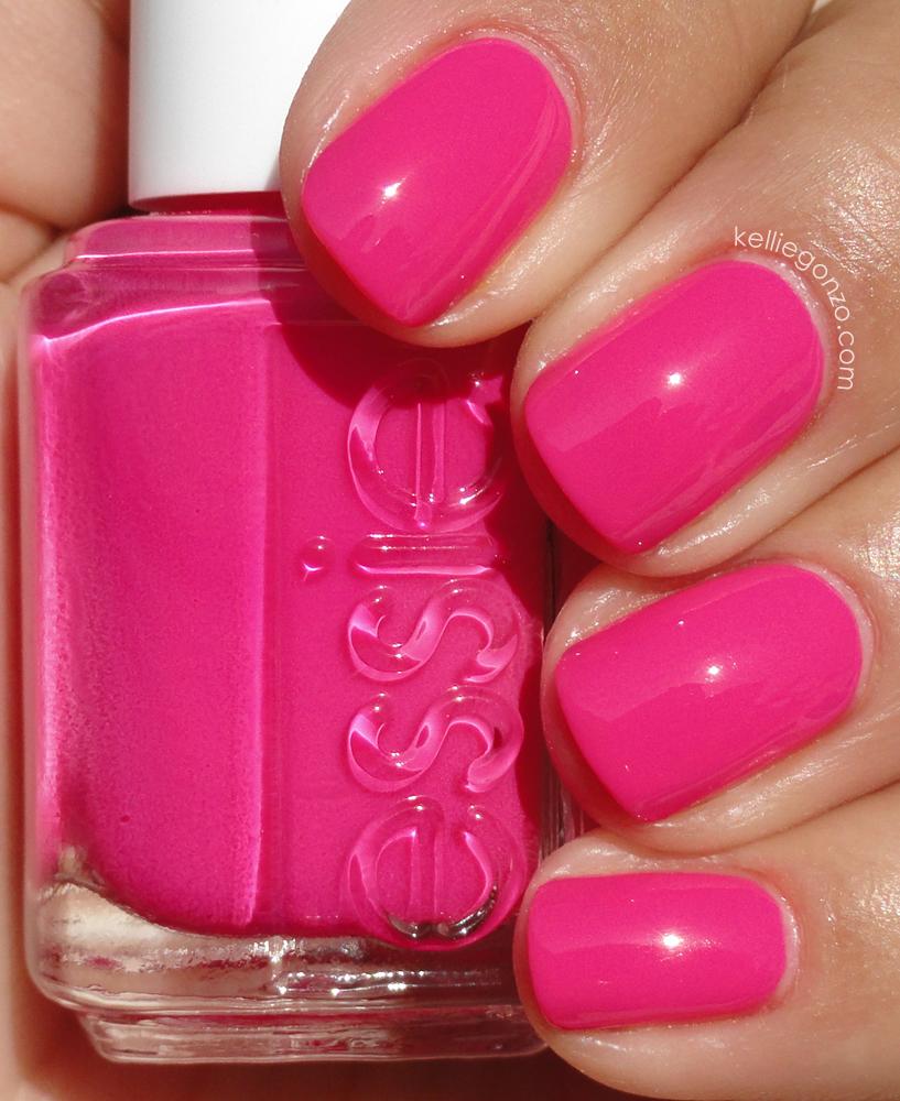 Nail Polish Colors Essie: KellieGonzo: Essie Poppy-Razzi Collection