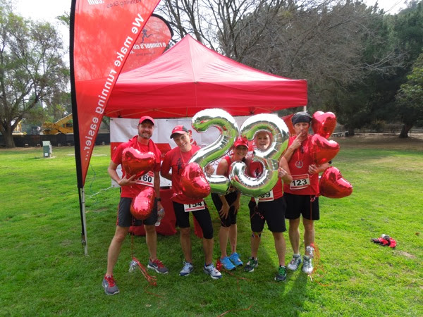 T2 Team to End AIDS marathon training runners
