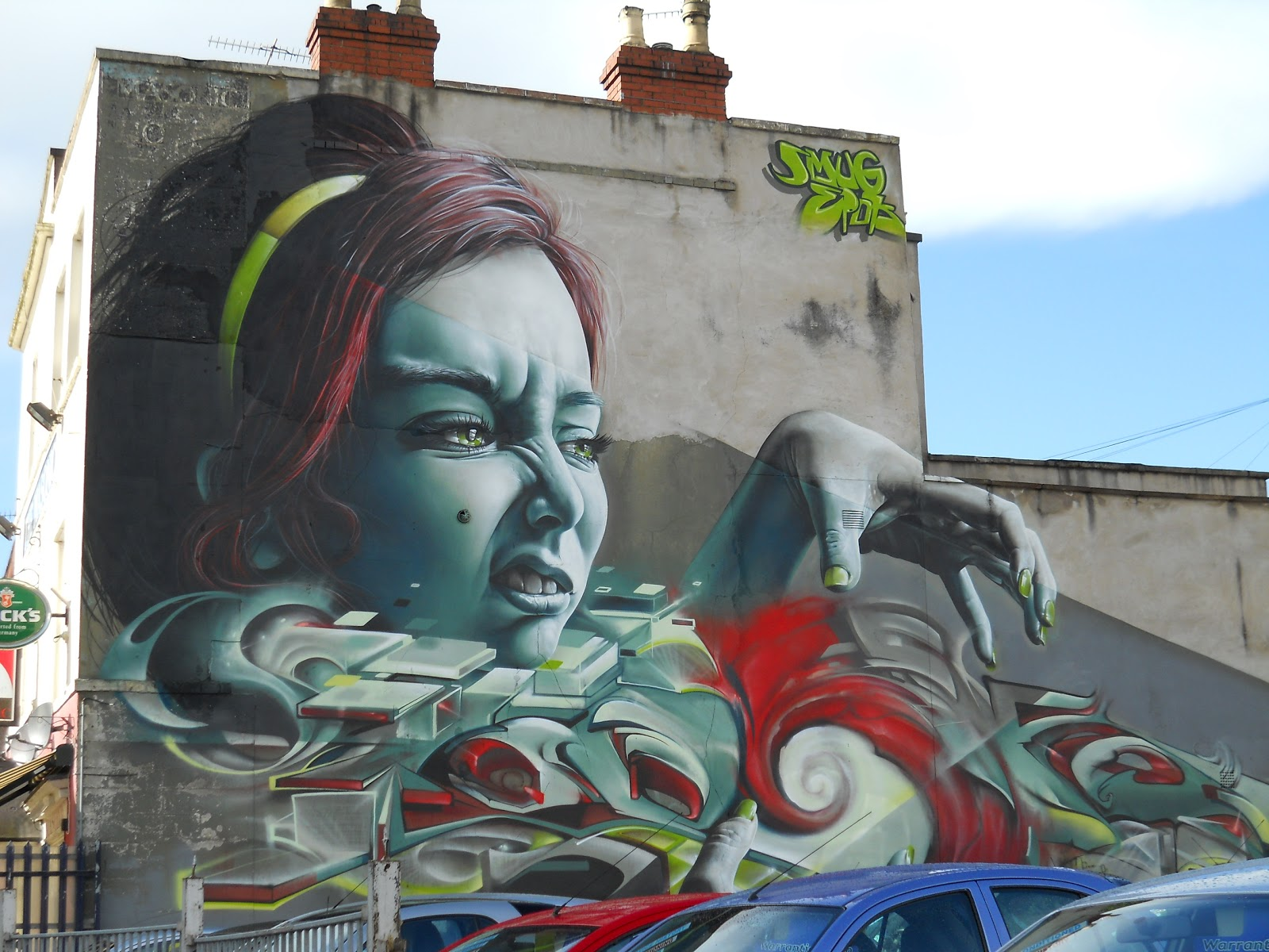 Bristol street art out and about in bedminster