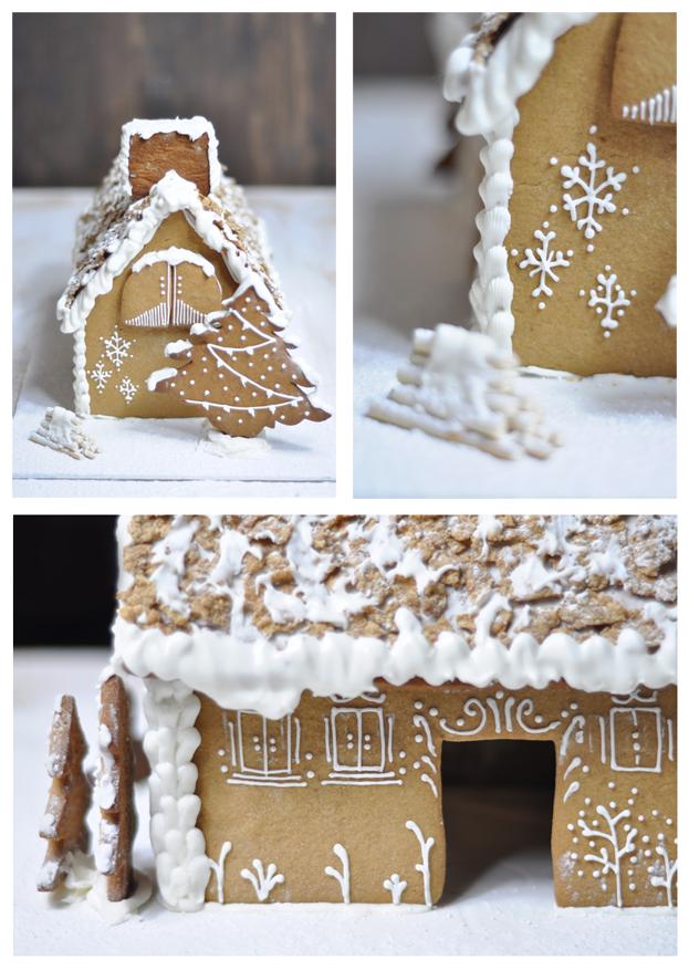 Receta de casa de jengibre gingerbread house for Casa jengibre
