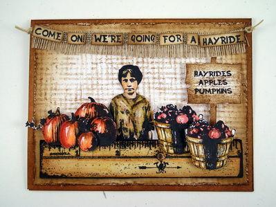 Stamps - Artistic Outpost Hayride, Kudzu Kafe, Whimsical Melange
