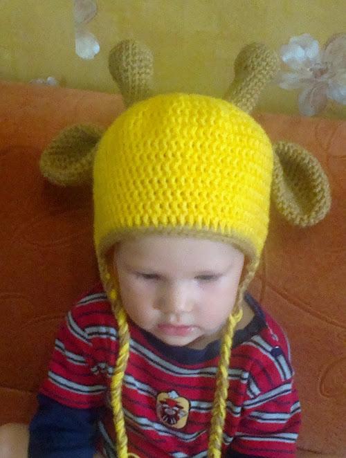 Оформляем мордочку шапки-