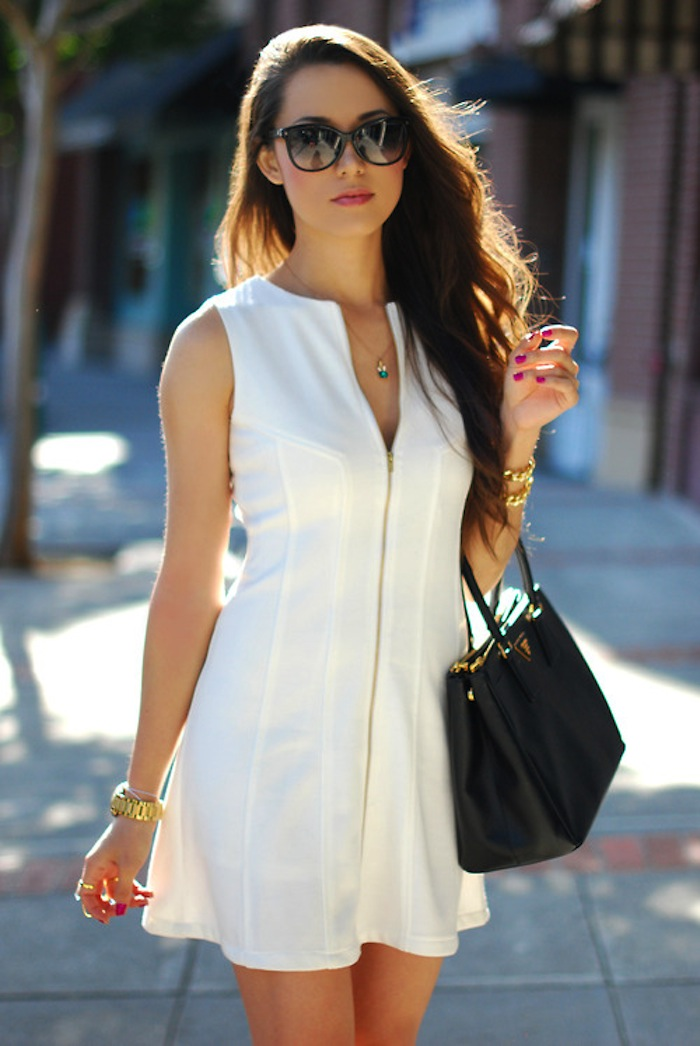 CorriereDellaModa » Ged Style » The Little White Dress