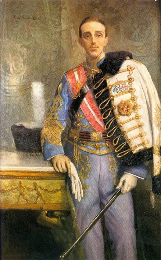 Gabriel Osmundo Gómez, Alfonso XIII retratado