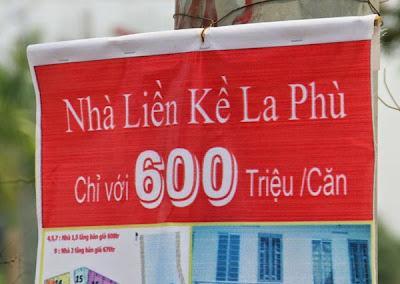 Rao bán nhà giá rẻ giật mình tại Hà Nội