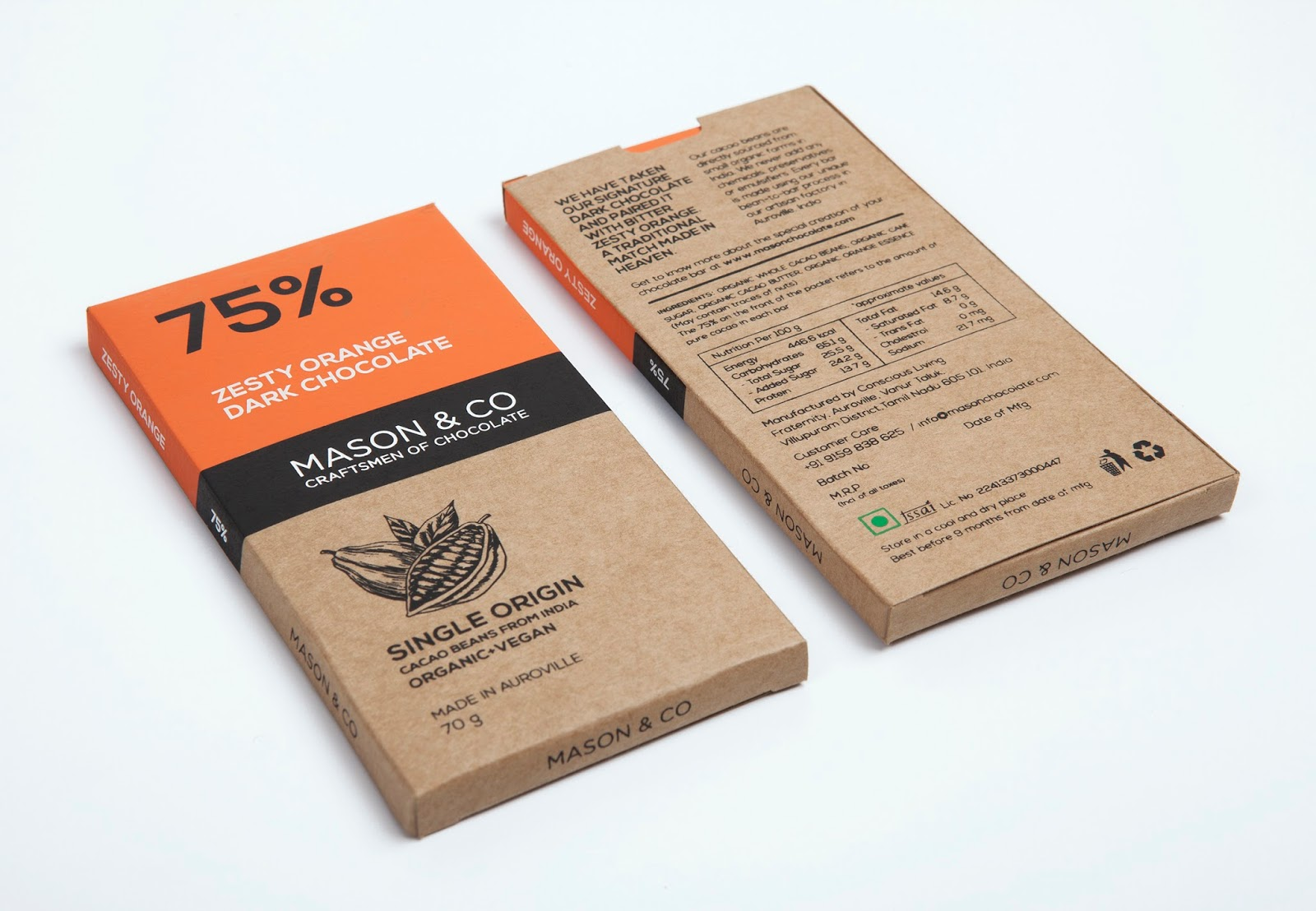 Mason & Co Chocolate Bars - The Dark Chocolate Collection on ...