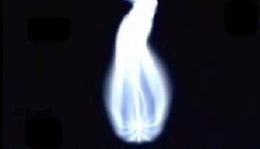 asteroide en forma de cruz y la virgen maria en rusia