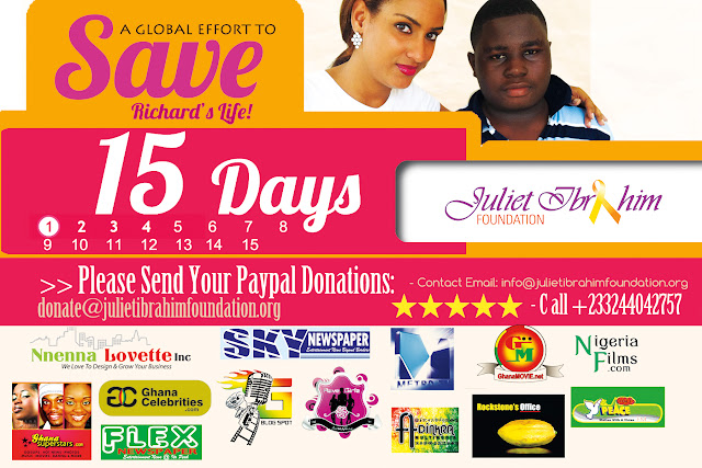 Juliet Ibrahim's Foundation And Otners Join hands To Raise Money For A 15 Year Old