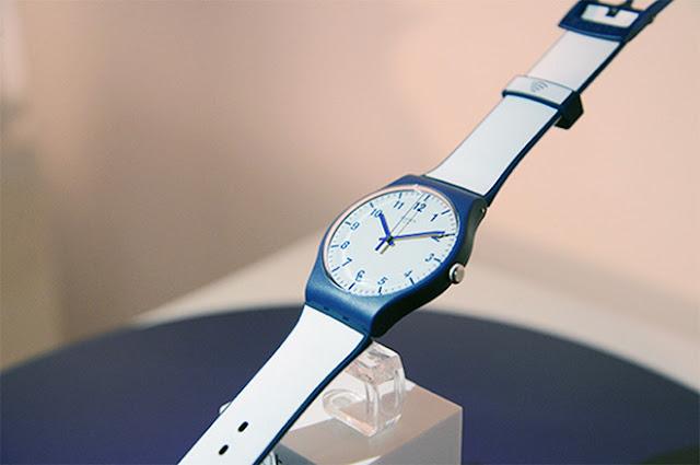 Swatch lança relógio de pagamentos na China