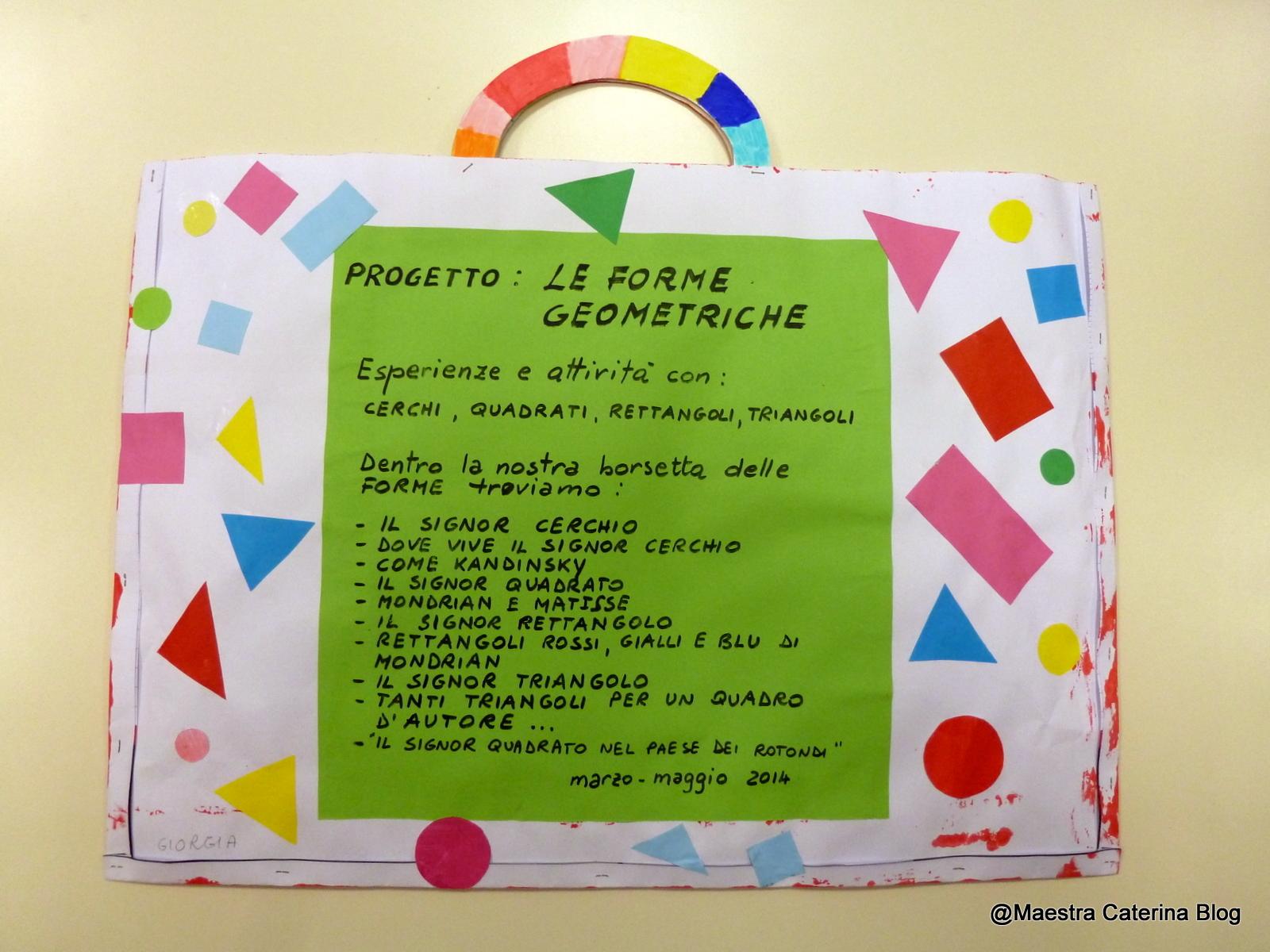 Connu Maestra Caterina: Filastrocca delle Forme geometriche LS39