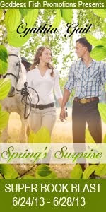 Cynthia Gail's Spring's Surprise Book Blast