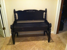 Twin Bench ~ Sold