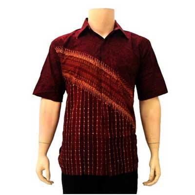 Baju Batik Pria Modern Tailor Surabaya Jasa Jahit