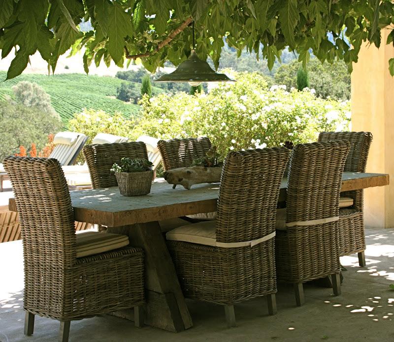 Vignette Design Outdoor Dining Room Inspiration