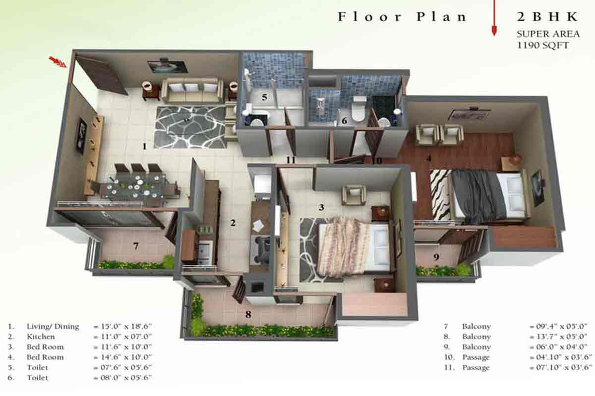 Big house floor plans for Large simple house plans