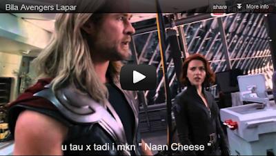 Funny LOL - Bila Avengers Lapar