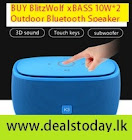 BlitzWolf Bluetooth Speaker Offer - 60% OFF