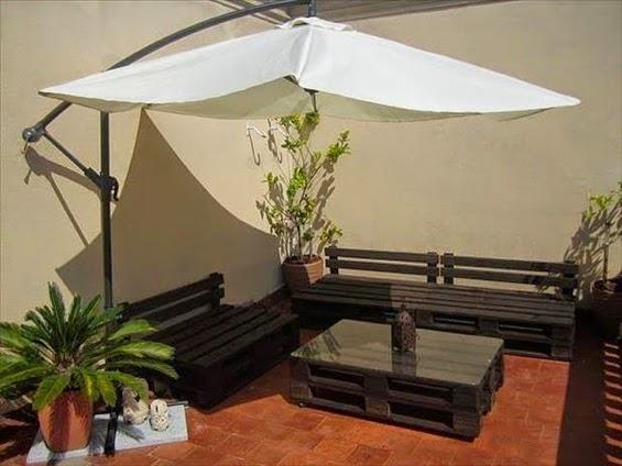 Salon De Jardin Palette Design