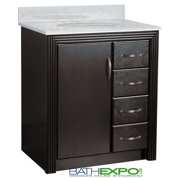 Small Bathroom Vanity Drawers : Inch bathroom vanity with drawers ayanahouse