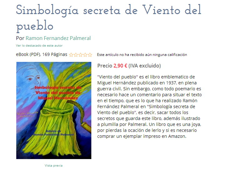 Simbologia de viento del pueblo de Miguel Hernández