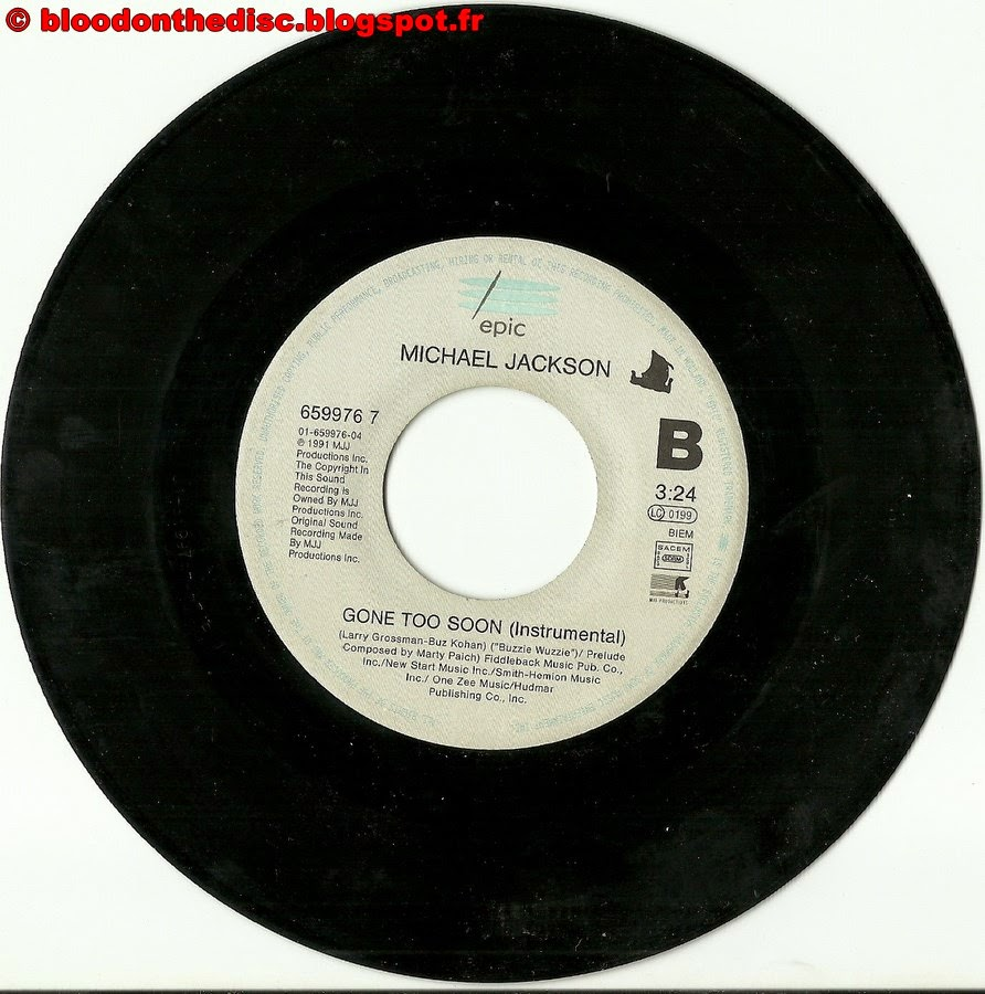Gone Too Soon 45T B Side